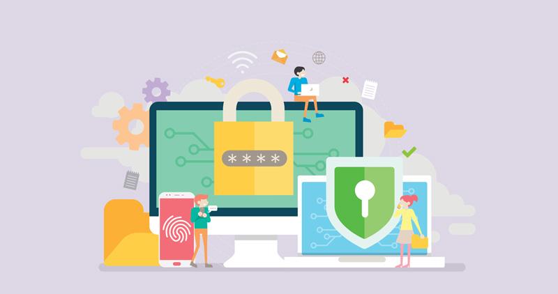 Les services de cloud pour professionnels pour avoir en ligne une copie sécurisée de leur données: pratiques et préoccupant en matière de sécurité.